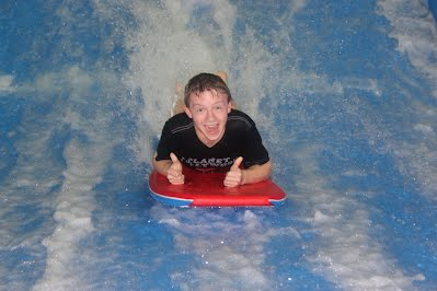 Scouts enjoy challenge and adventure at FlowRider